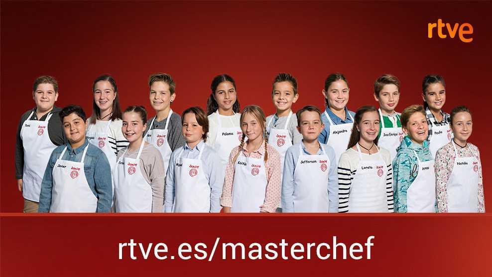 Conoce a los 16 aspirantes de MasterChef Junior 4