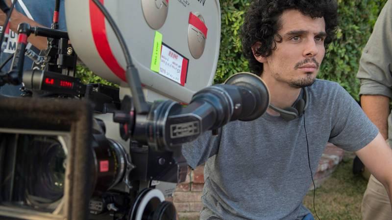 "Damien Chazelle, director de ""La, la, land"""