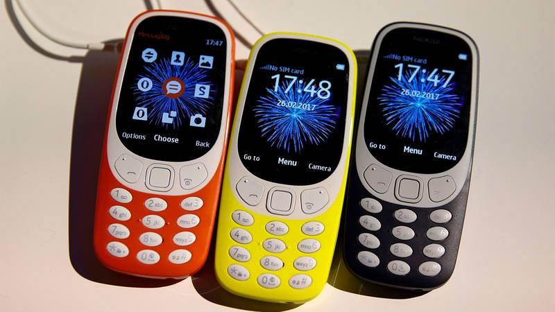 Más delgado que su antecesor, el Nokia 3310 mantiene la esencia del diseño original.