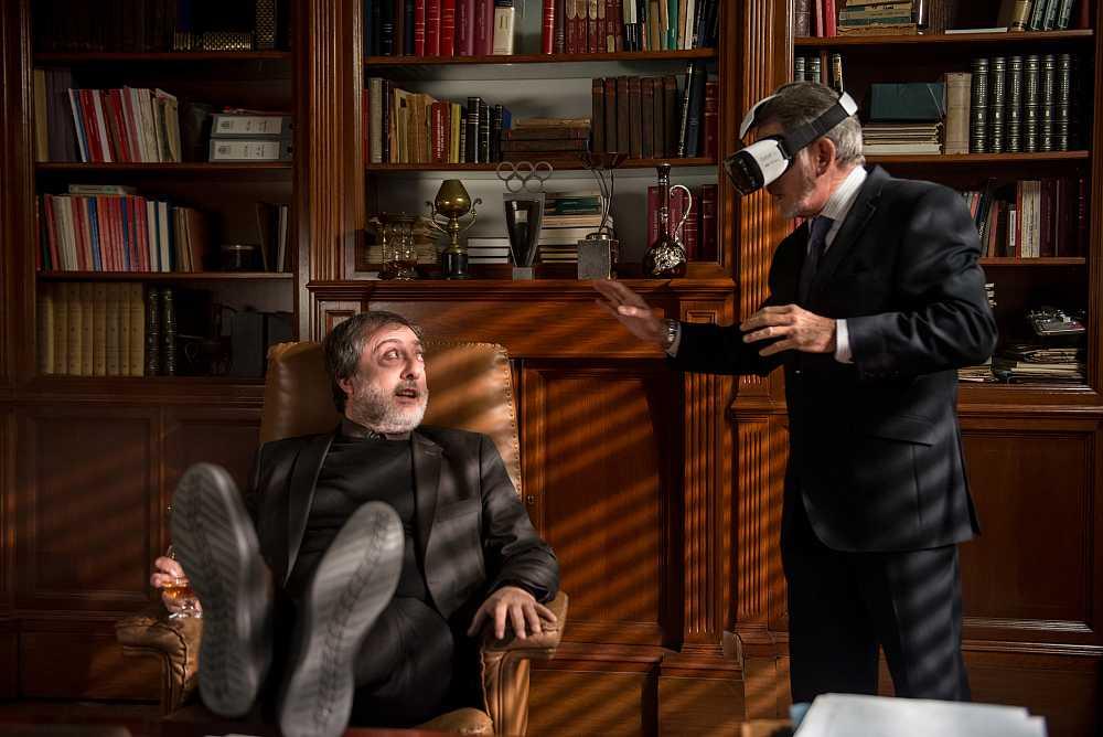 """""""El tiempo en tus manos"""", el primer episodio de Realidad Virtual interactivo de una serie de televisión en el mundo"""