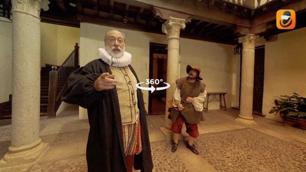 Viaja en el tiempo para conocer a Cervantes en realidad virtual