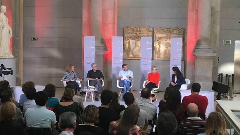 Desde la izquierda: María Acaso, Víctor Rodríguez, Antonio Vicente, Karina Marotta y Berta Gutiérrez