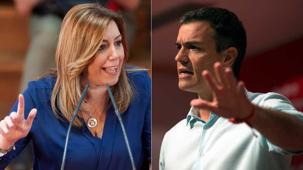 Susana Díaz obtiene 62.000 avales y gana por poco la batalla a Pedro Sánchez, que presenta 57.000