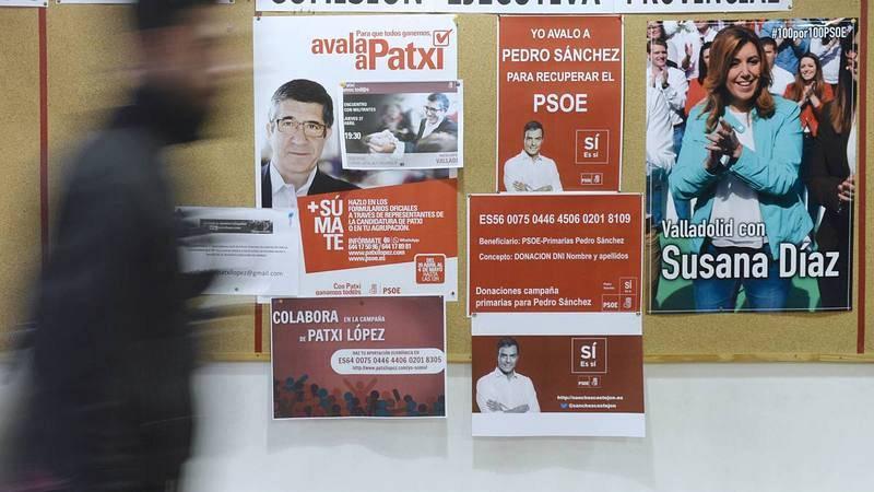 Las primarias del PSOE se celebrarán el 21 de mayo.