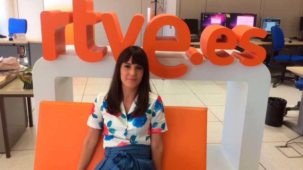 Gina Tost, nuestra presentadora más #Tipsters ha estado en RTVE.es
