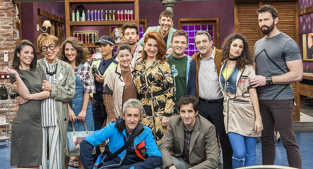 TVE estrena este lunes 'La Pelu', una refrescante comedia para toda la familia