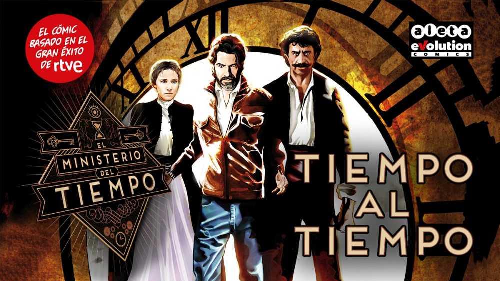Hazte con un ejemplar de 'Tiempo al tiempo', el cómic oficial de la serie