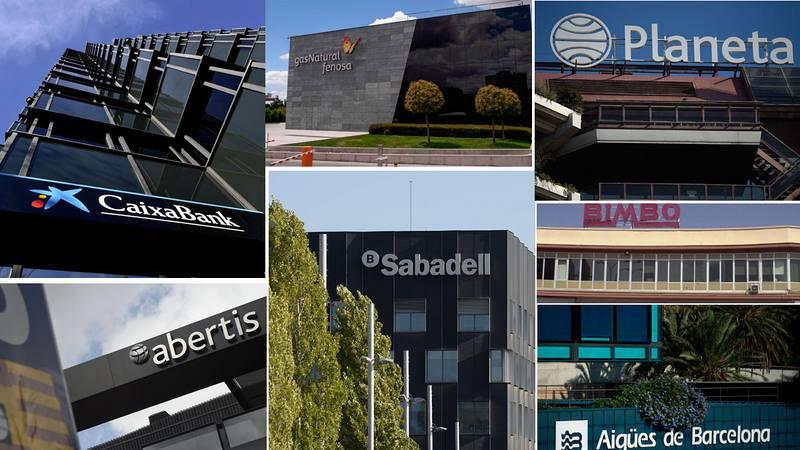 Bancos y grandes empresas trasladan sus sedes sociales fuera de Cataluña