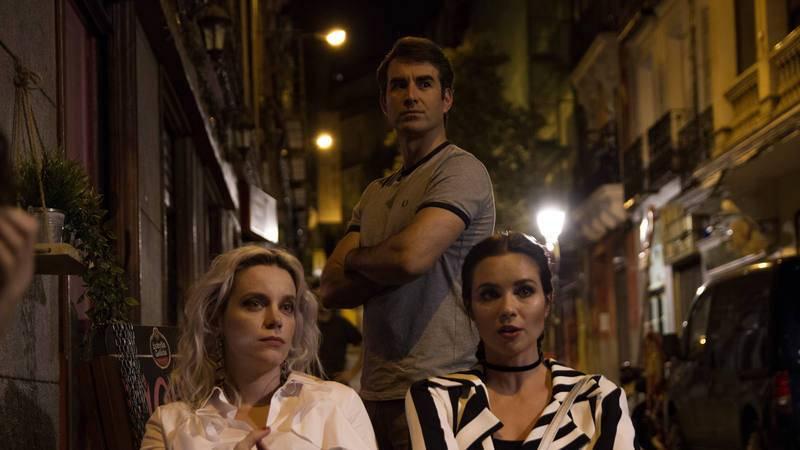 Carolina Bang, Dani Muriel y Macarena Gómez en 'Dorien'