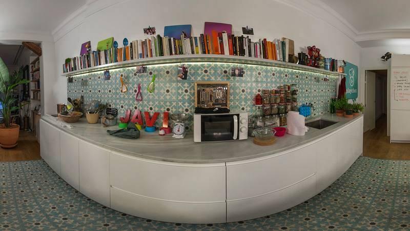La cocina de PlayChez en 360º