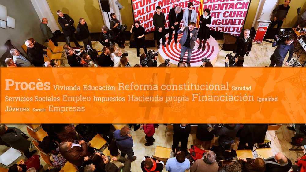 ¿Sin noticias de Cataluña? El procès engulle la campaña