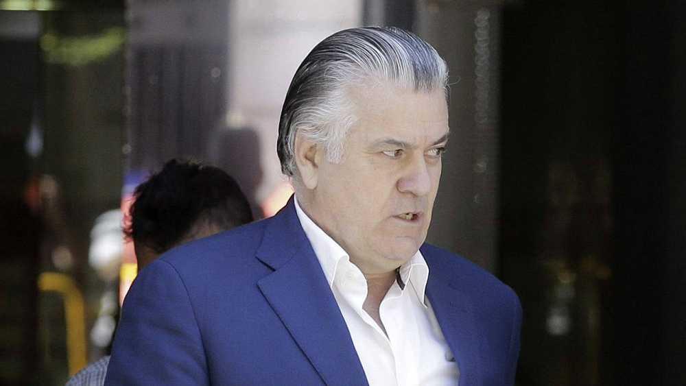 El extesorero del PP Luis Bárcenas a su salida de la Audiencia Nacional