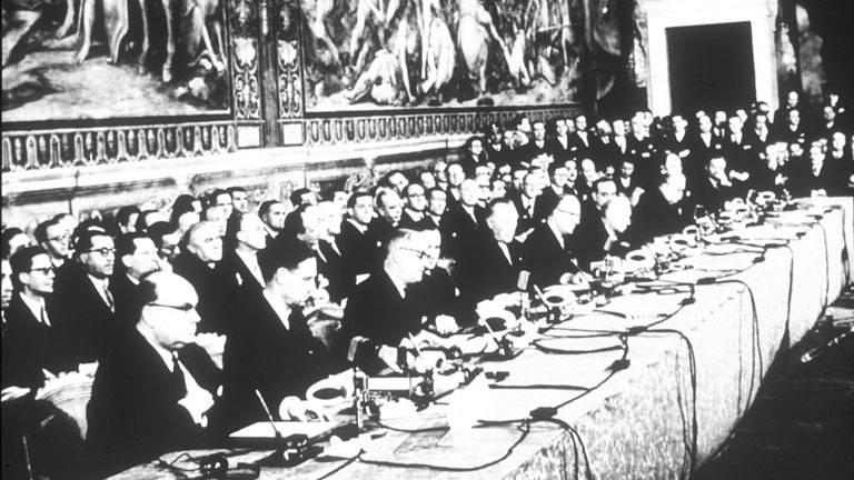 Firma del Tratado de Roma