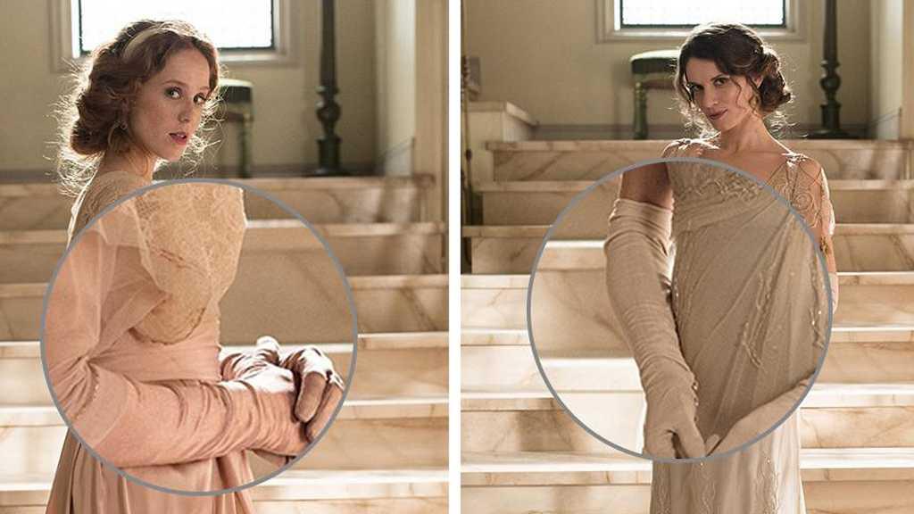 Los vestidos de 'Seis Hermanas', con lupa