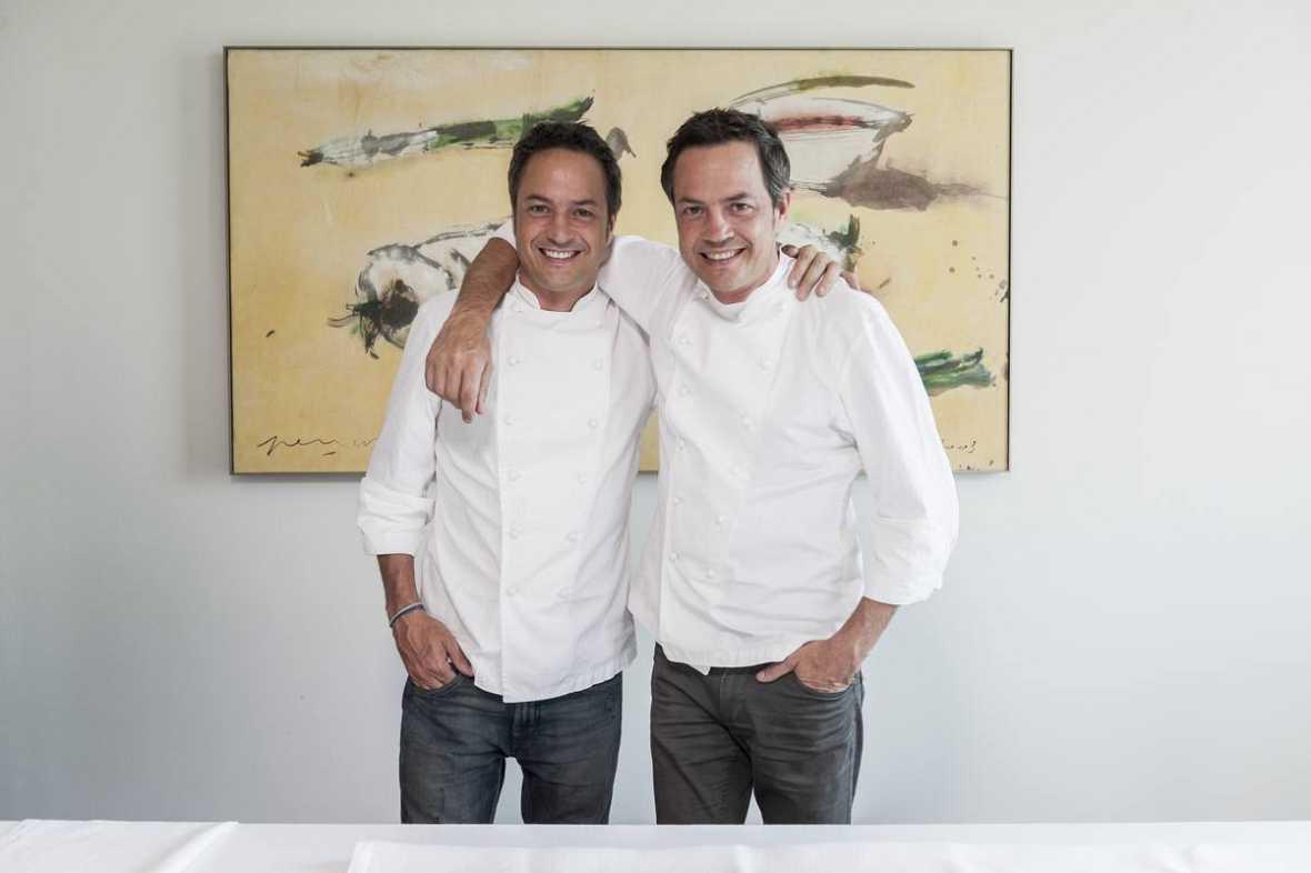 Los chefs Sergio y Javier, los hermanos Torres