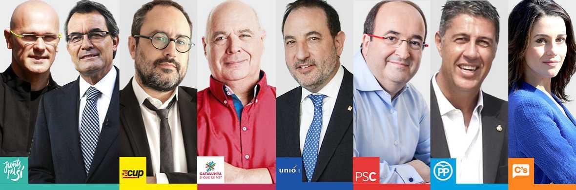 Quiénes son los candidatos de las elecciones catalanas y cuál es su posición sobre la independencia