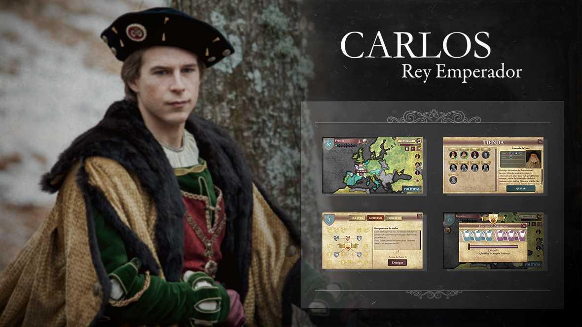 Carlos, Rey Emperador: Conoce el juego oficial de la serie