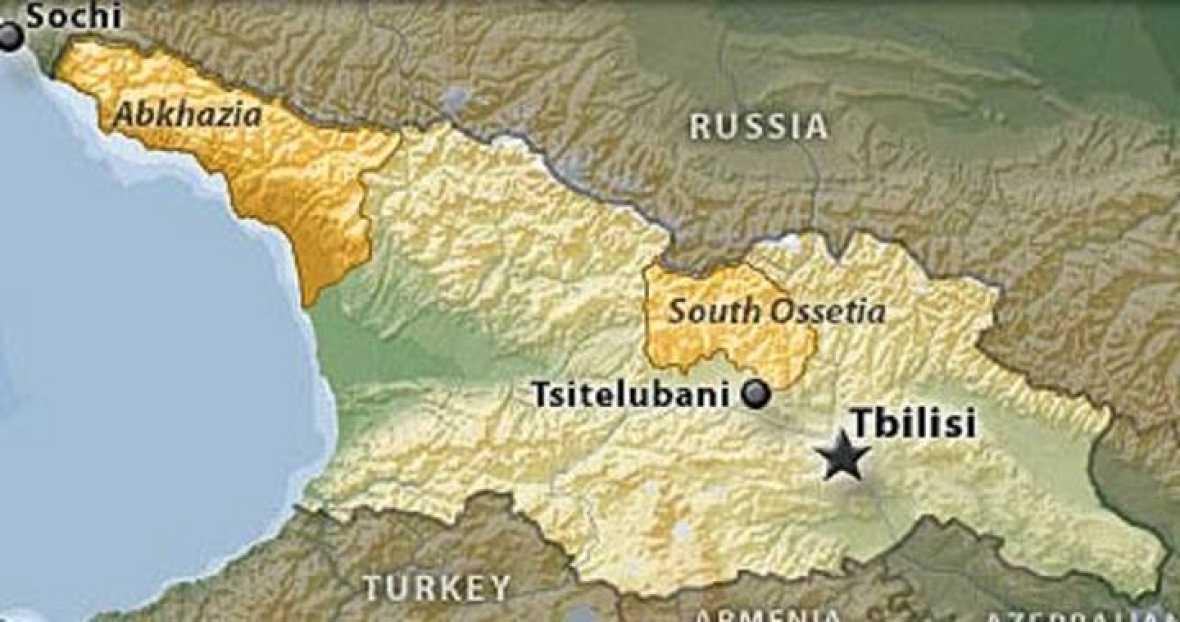 Osetia Del Sur Una Región De Georgia Con Mayoría De Separatistas - Mapa de georgia
