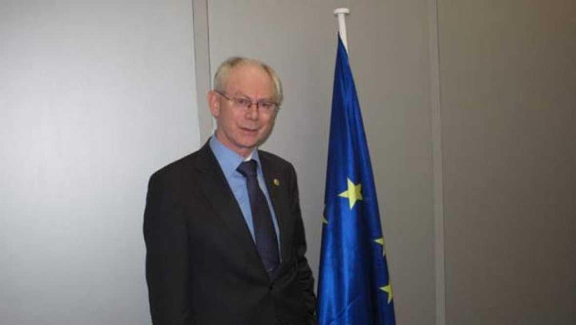 Van rompuy en europa se habla demasiado y eso genera for Presidente del consejo europeo