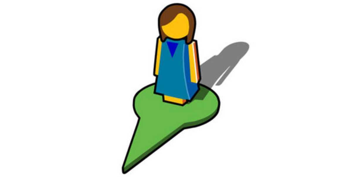 Icono De Ubicacion Icono De Ubicacion Carta Lápiz Png Y: Google Viste Al Muñeco De 'Street View' De Mujer