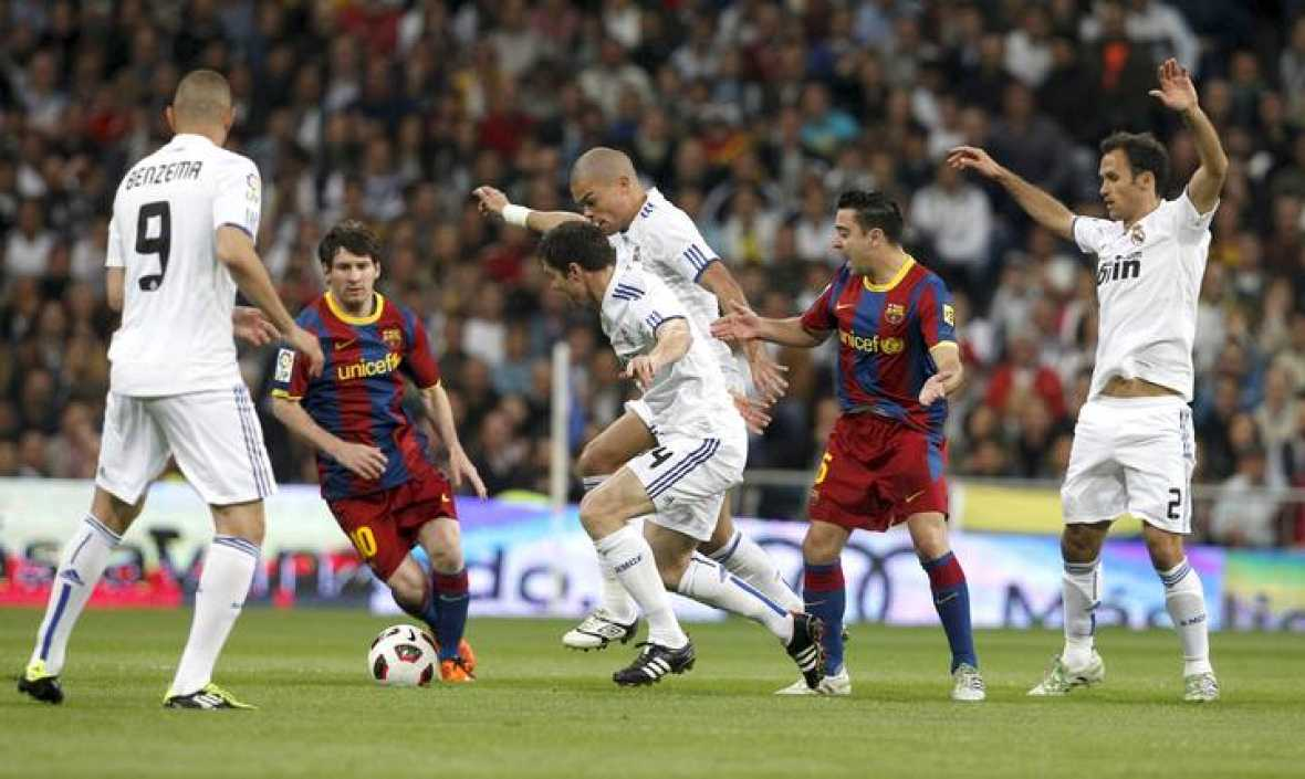 Barcelona o tener la pelota frente al real madrid o jugar for Ultimo partido del real madrid