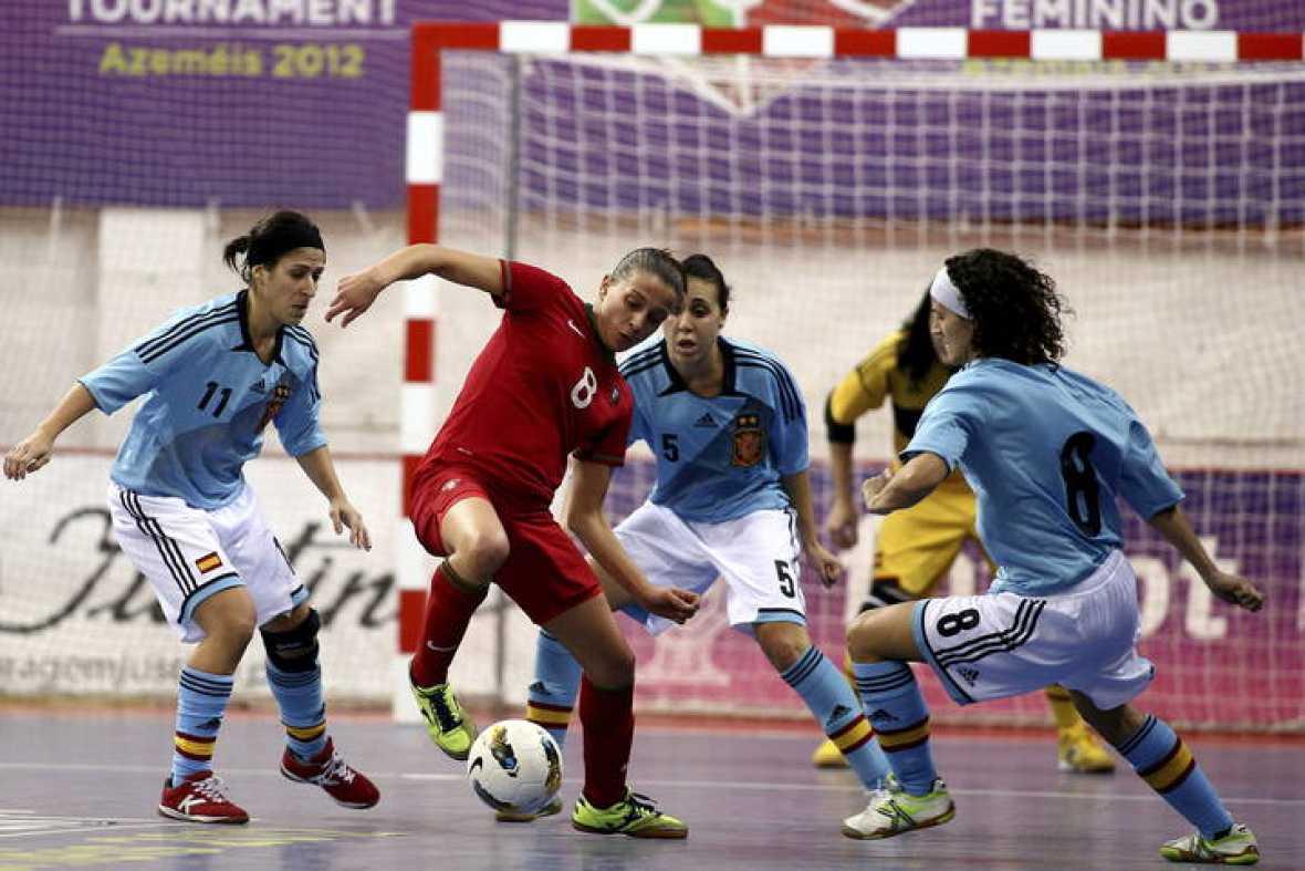 F tbol sala mundial femenino la selecci n espa ola de for Federacion de futbol sala