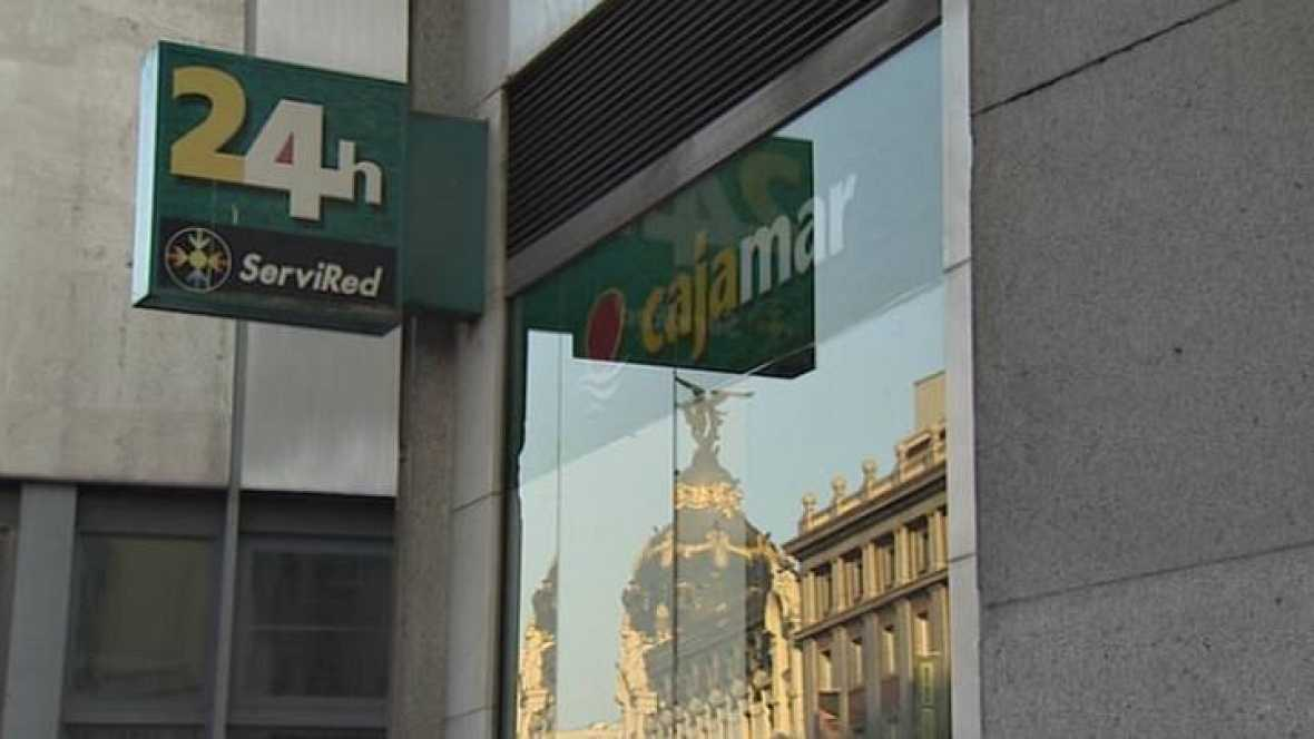 El banco de espa a aprueba la 39 fusi n fr a 39 de cajas for Oficinas de cajamar