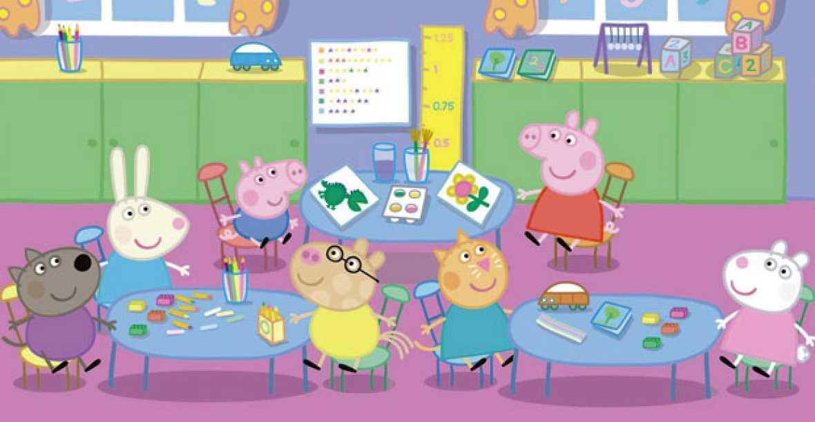 Participa en el divertido concurso de Peppa Pig en la web