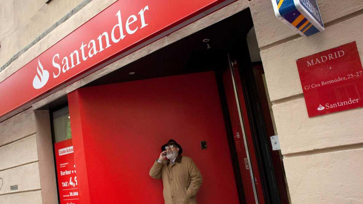 El banco santander gan millones hasta junio un 24 for Banco santander oficina central madrid