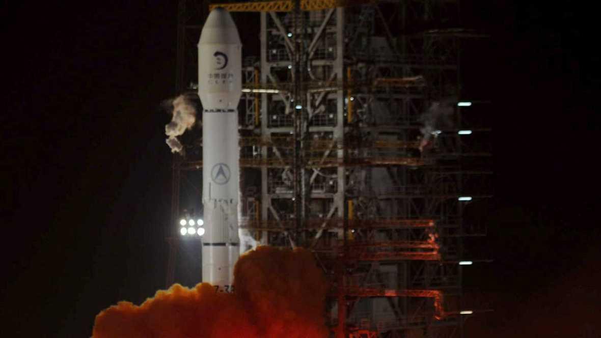 El telescopio está montado en el módulo de aterrizaje Chang'e 3, que fue enviado a la Luna en diciembre de 2013.