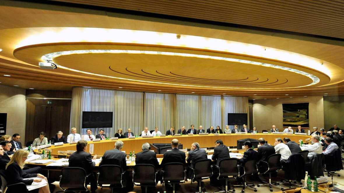 Reunión del Consejo de Estabilidad Financiera en junio de 2009, en la ciudad suiza de Basilea.