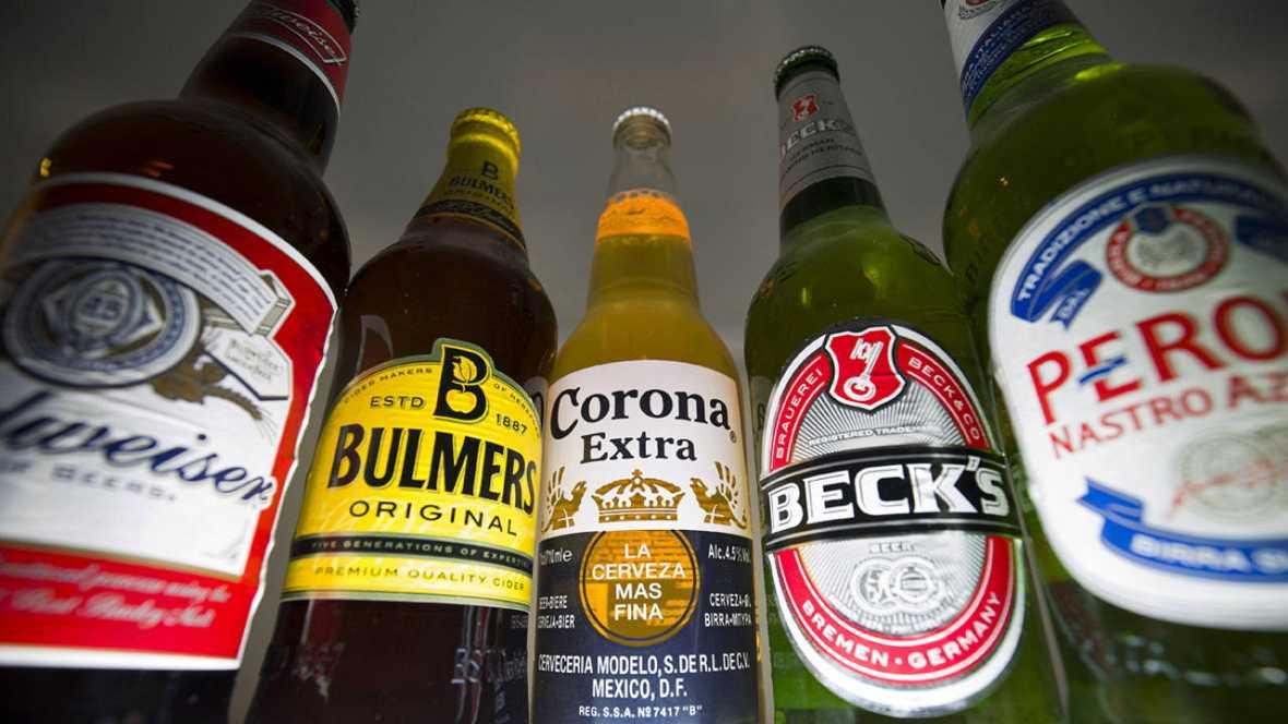 Cervezas producidas por AB inBev y SAB Miller