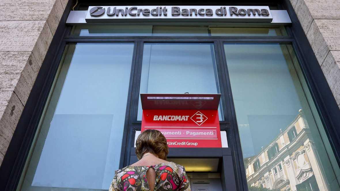 El banco italiano unicredit reducir su plantilla en 18 for Sucursales banco santander en roma italia