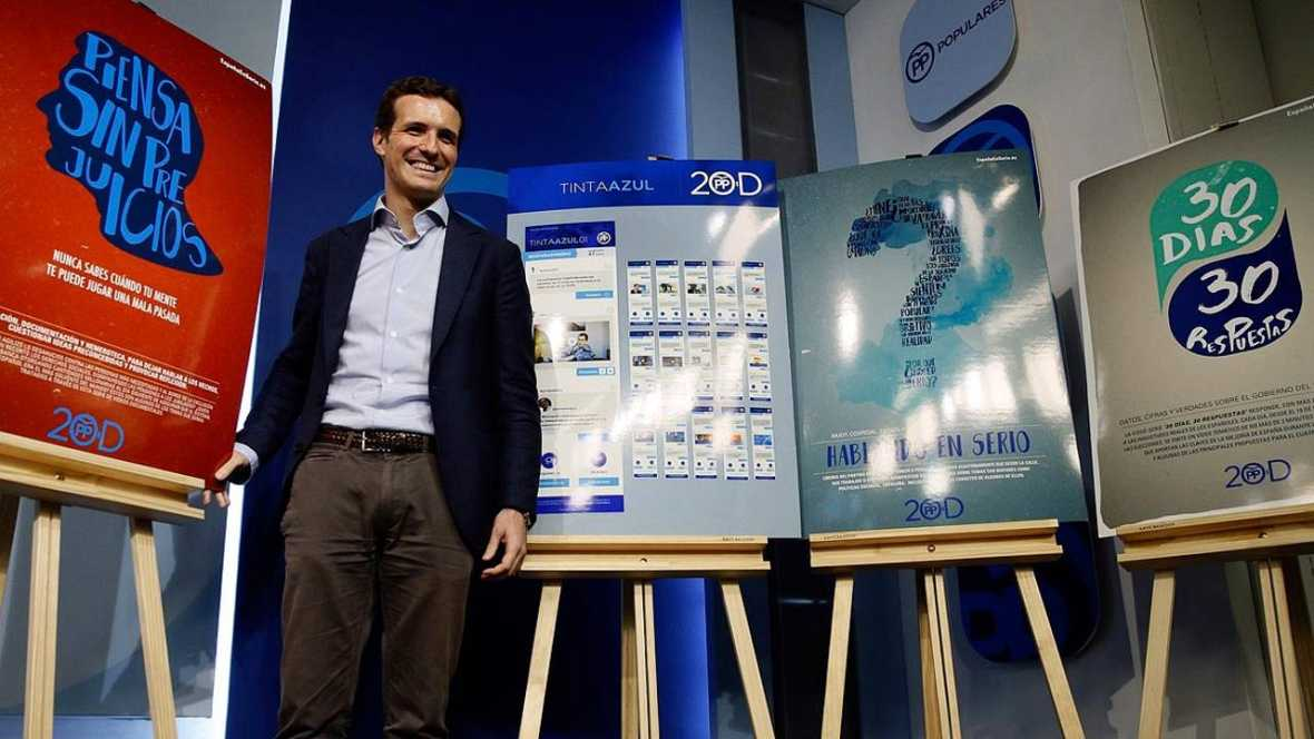 Casado presenta la campaña digital del Partido Popular para el 20D