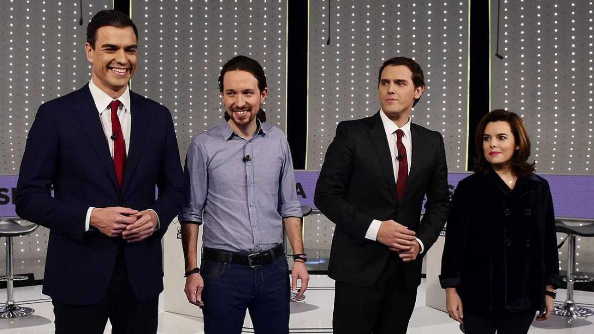 PP, PSOE, C's y Podemos rechazan apoyar la investidura de otro candidato que no sea suyo