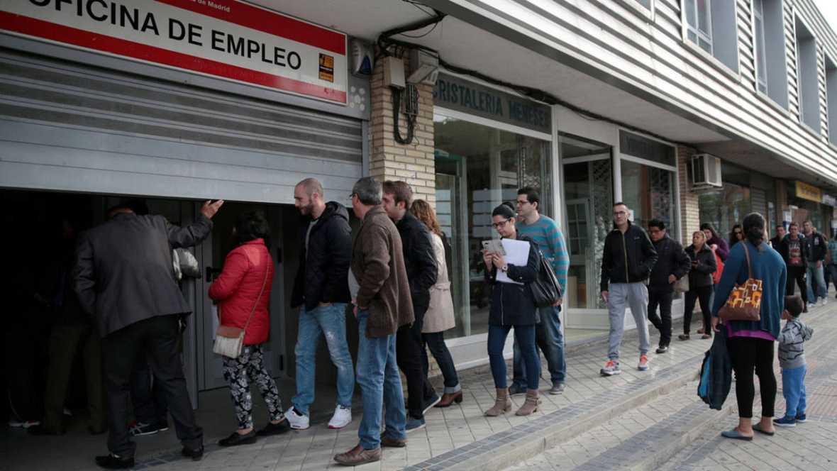 El n mero de parados registrados baj en personas for Oficina registro comunidad de madrid