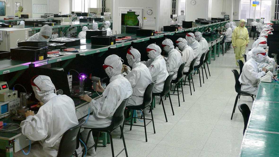 Fábrica de Foxconn en Shenzen