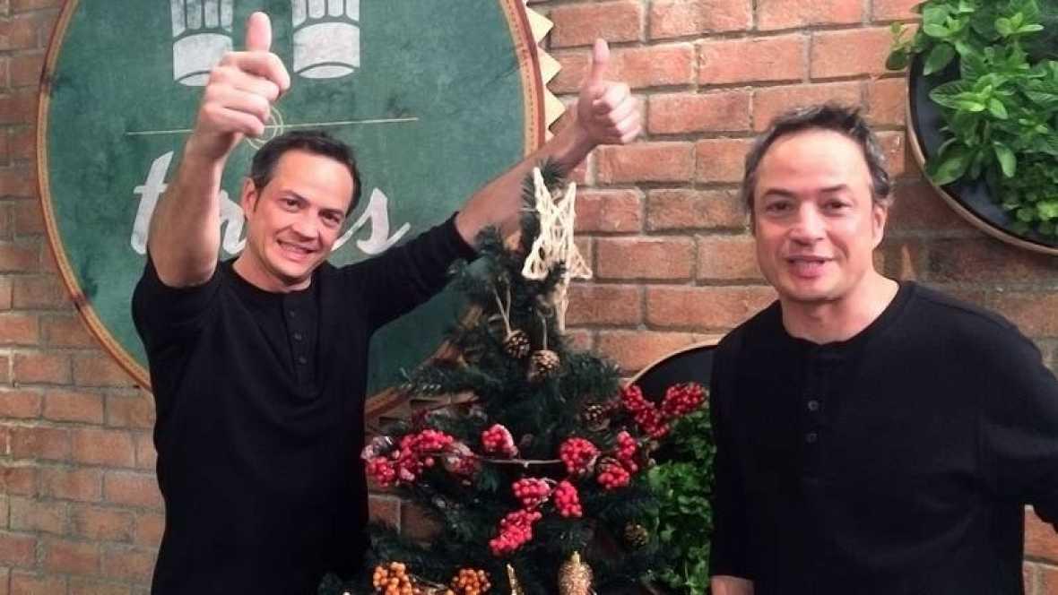 Los hermanos torres empiezan la navidad con m ximo for Cocina hermanos torres