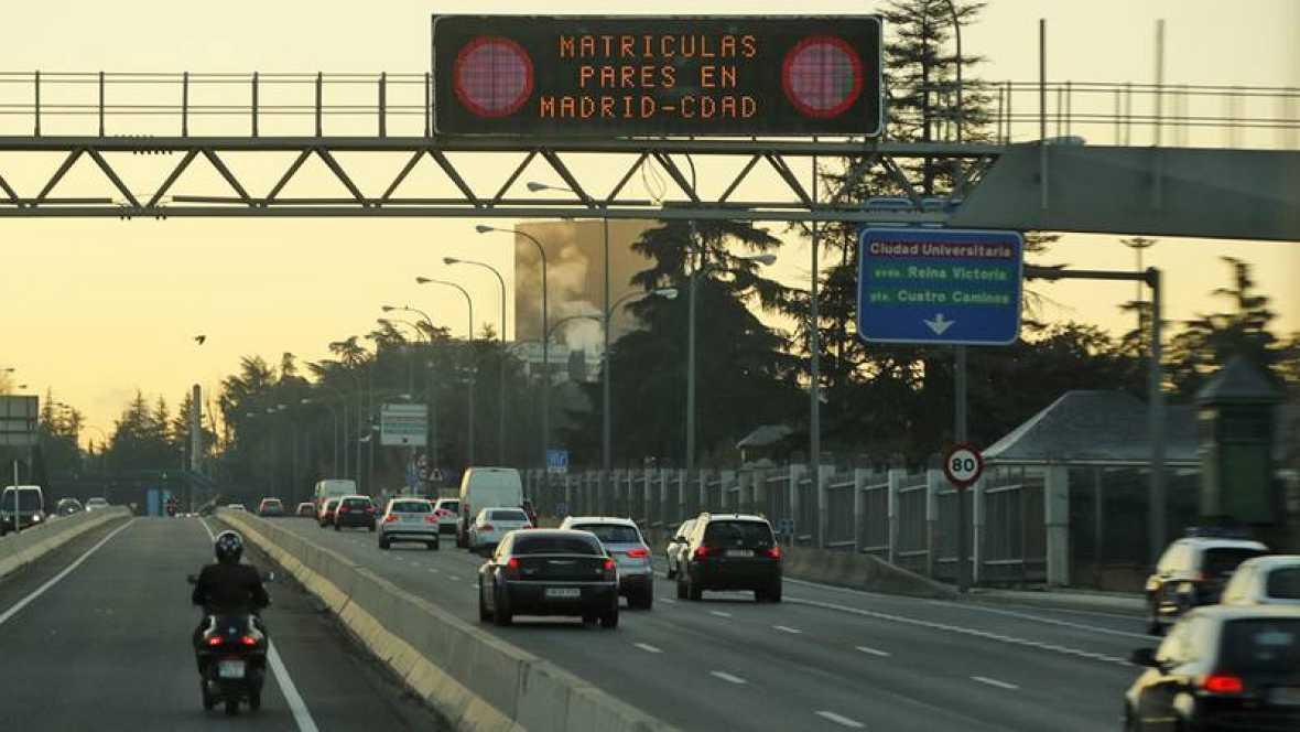 Madrid volverá a permitir este viernes la circulación de todos los coches  por la almendra central 224cc8288c8