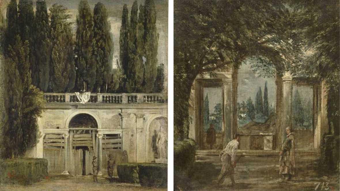 Cu ntame un cuadro vistas del jard n de la villa medici for Jardin de la villa
