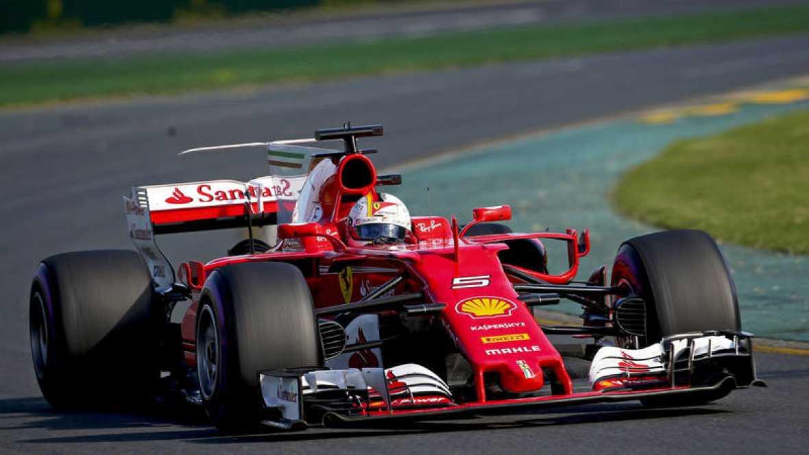 Vettel se impone en la primera carrera de 2017.