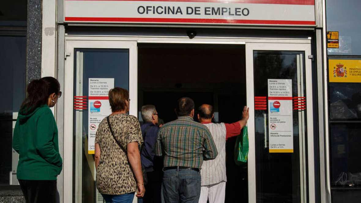 El paro en espa a el n mero de parados registrados baj for Oficina empleo goya