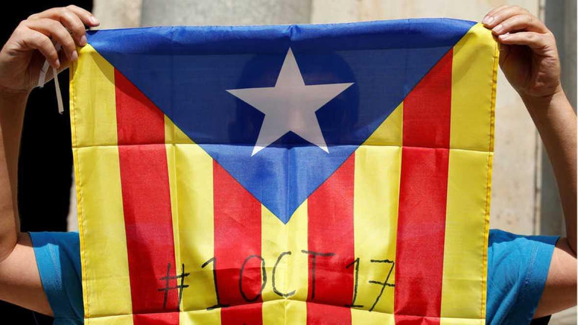 referendum cataluña bilaketarekin bat datozen irudiak