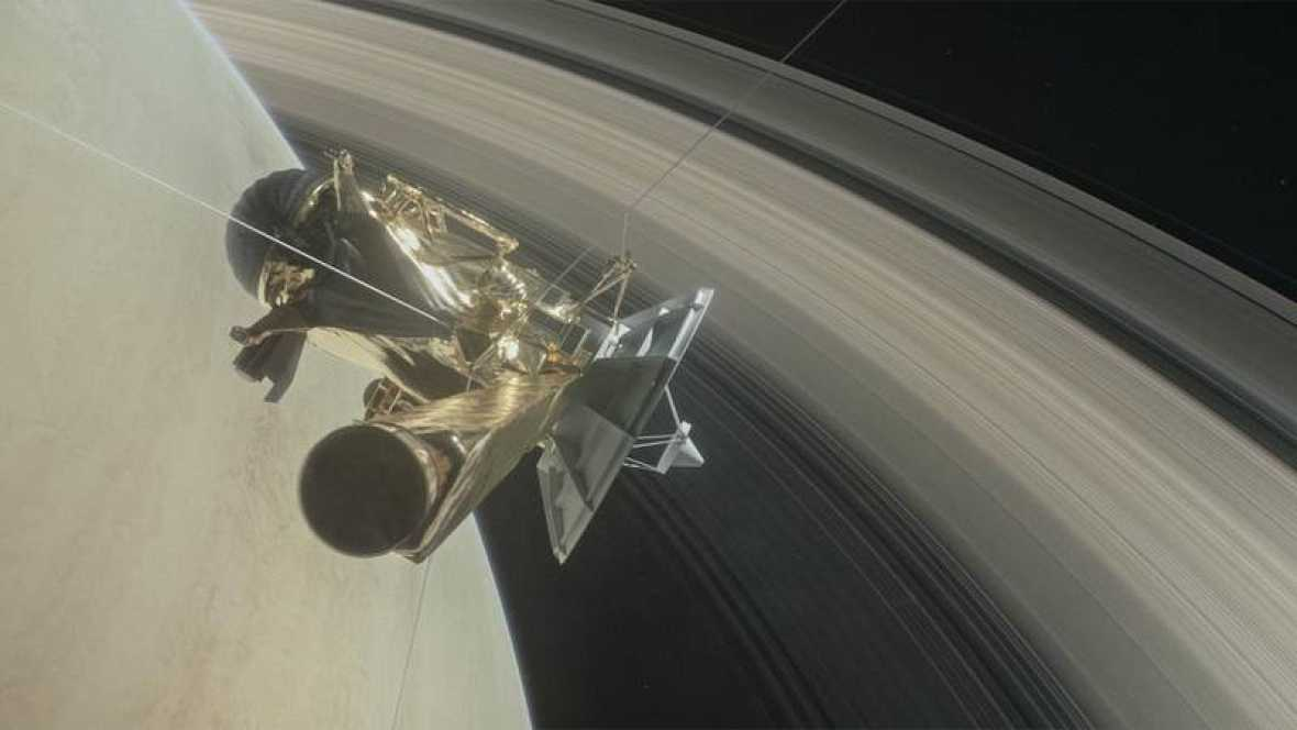 Cassini desaparecerá a unos 1.500 kilómetros de distancia de la superficie de Saturno.