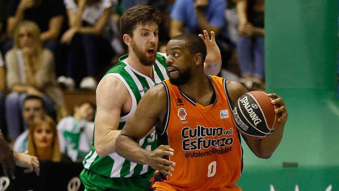 Resultado de imagen de valencia vs betis basket