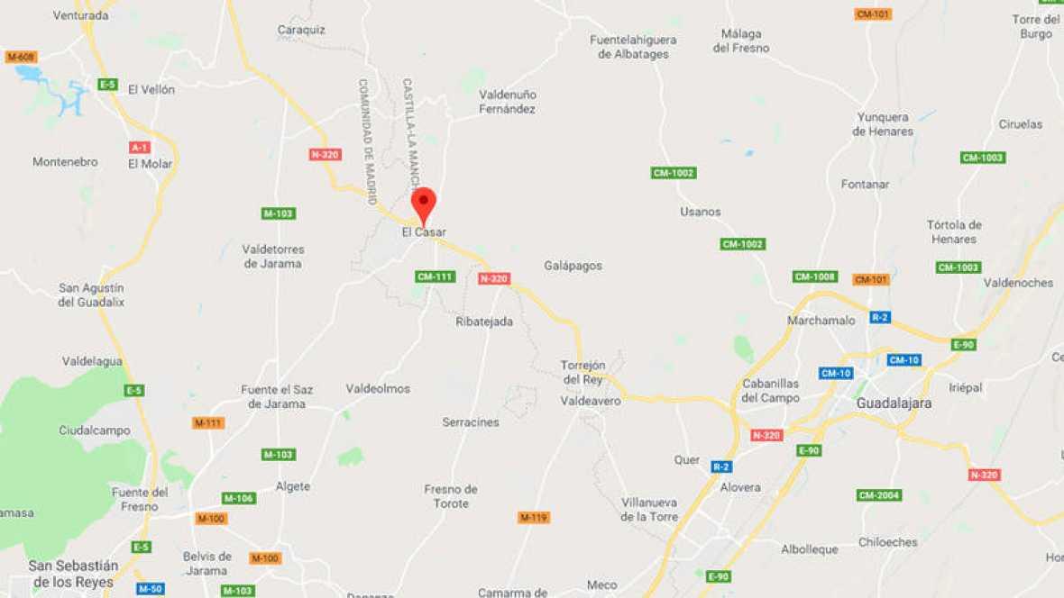 Localización De Una Casa En El Mapa: Dos Muertos En El Incendio De Una Vivienda En El Casar