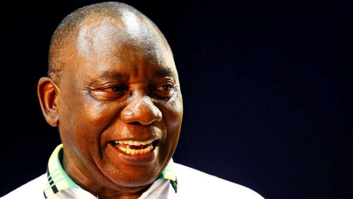 Ramaphosa, nuevo líder del partido gobernante, el Congreso Nacional Africano (CNA)