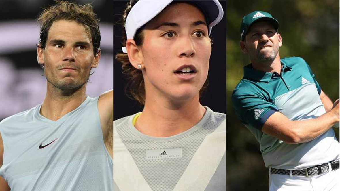 Nadal, Garbiñe y Sergio García encabezan la lista de candidatos a los Laureus 2018