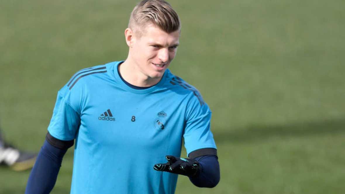 El centrocampista alemán del Real Madrid, Toni Kroos.