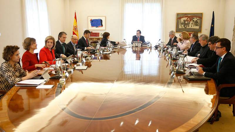 Reunión del Consejo de Ministros en marzo de 2018